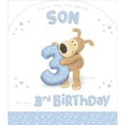 Boofle Very Very Special Son 3rd Birthday Card 28cm x 24cm Code 280126