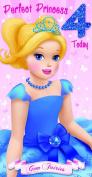 Gem Fairies Age 4 Badge Birthday Card