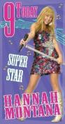 Hannah Montana Super Star Age 9 Birthday Card