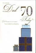 Dad 70th Birthday, Birthday Card