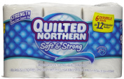 Quilted Northern Soft & Strong Bathroom Tissue 242 2-Ply 6 roll