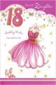 Daughter 18th Birthday Card