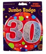 Jumbo Badge 30