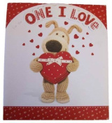 Boofle For The One I Love Handcrafted Birthday Card 28cm x 24cm Code 232031