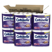 Cottonelle Ultra Comfort Care Toilet Paper, Double Roll, 4 Rolls, 8 Pack