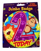 Jumbo Badge 2 today