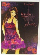 Daughter On Your 18th Birthday, Birthday Greetings Card
