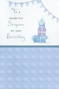 To a Wonderful Stepson on your Birthday card