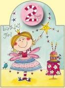 Rachel Ellen Age 2 Fairy Glitter Birthday Card