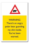 Polar Bear Fridge Magnet