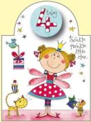 Rachel Ellen Age 4 Fairy Birthday Card