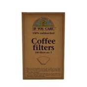 If You Care - If You Care #2 Cone Coffee filters - Brown - 100 Count