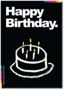 Chalks Designer Greeting Card - Happy Birthday - I Hope You Get Lots Of Presents - CK005