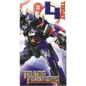 Transformers - Age 4 Birthday Card - 4th