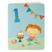 Birthday Boy Age 1 Greeting Card