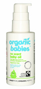 Green People Organic Babies Soothing Baby Oil - Scent Free