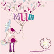 Hand Finished Mum Card
