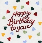 Emma Bridgewater Card - Happy Birthday To You (EB034) NEW IN CELLO