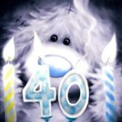 Large Me to You Tatty Teddy 40th Birthday Card