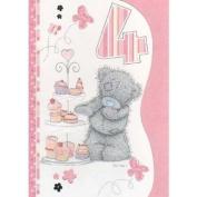 Me To You Tatty Teddy 4th Birthday Card