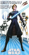 Star Wars Birthday Boy Card