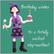 Step Mum Birthday Card