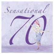 "Art Beat Birthday Card ""Sensational 180cm by Angie Thomas"