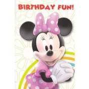 Disney Minnie Mouse Happy Birthday Card - General Open Card Size 160mm x 230mm