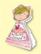 Rachel Ellen Princess Stand Up Birthday Card