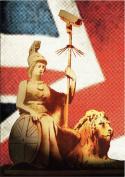 Banksy Art - Open Greeting Card - Rule Britannia - BK026
