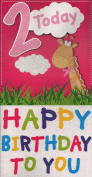 Birthday Card - `2 Today Happy Birthday To You`