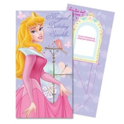 Disney Princess Birthday Card with make your own Photo Frame activity