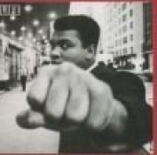 Portrait Of Muhammad Ali Blank Card