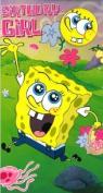 Spongebob Birthday Girl Card