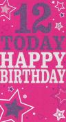 12 Today Happy Birthday card