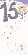 15 Babe Happy Birthday card