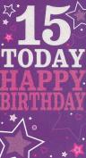 15 Today Happy Birthday card