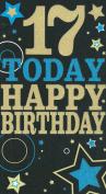 17 Today Happy Birthday card