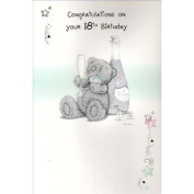 18th Birthday Me to You Bear Card