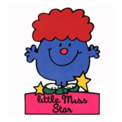 Little Miss Star Greeting Card