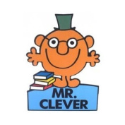 Mr Clever Stand Up Greeting Card