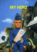 Thunderbirds Card - My Hero Greeting Card (TH14) New in Cello
