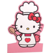 Hello Kitty Cooking Stand Up Greeting Card