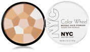 NYC colour WHEEL MOSAIC FACE POWDER #722A TRANSLUCENT HIGHLIGHTER GLOW