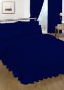Single Valance sheet Navy Blue Colour 18 Colours Available Plain Colour Valance Sheet
