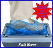 Easy Use Kwik Kover Disposable Shoe Cover Overshoe Dispenser with 50 Free ANTI-SKID Disposable Shoe Covers for the Home, Hygiene Areas, Boats, Yachts, Food Production, Crime Scenes, Show Homes. So Easy to Use they will be Used