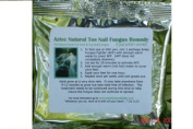 Organic Anti Bacterial Rinse for Feet, Hands & Toes - Heals Cracked Skin - Antifungal Toe Solution - 1 Months Supply