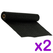 2 PACK NON-SLIP MAT - ANTI SLIP RUG GRIPPER - CAN BE CUT TO ANY SIZE