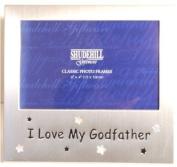 'I Love My Godfather' Photo Frame, 15cm x10cm