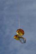 . Hanging Crystal Guardian Angel Birthstone Suncatcher NOVEMBER - TOPAZ